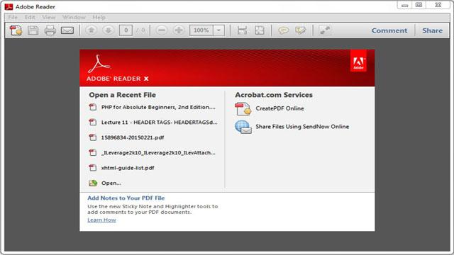 Adobe PDF Reader Download | PCRIVER