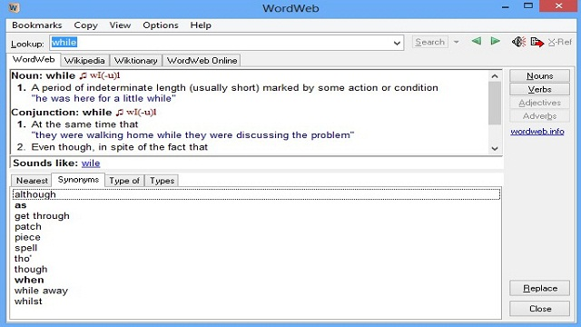 WordWeb_dictionary_free_download