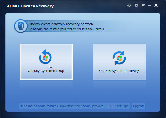 onekey-recovery-windows