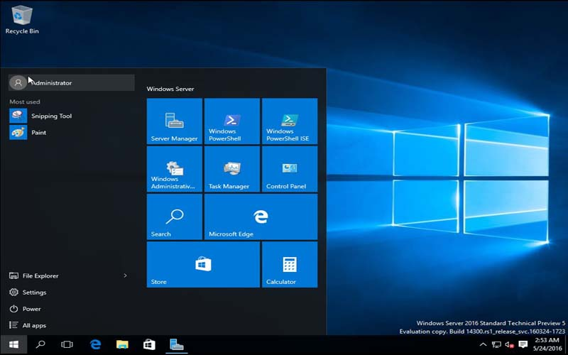 Windows Server 2016 Standard x64 download