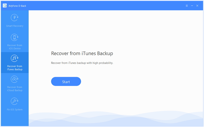 recover data from ios device