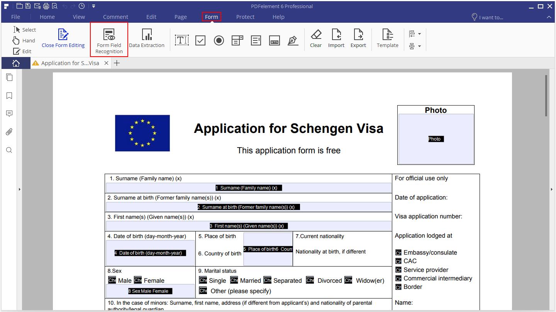 PDF Form Handling