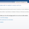How to Fix Security Certificate Error in Internet Explorer