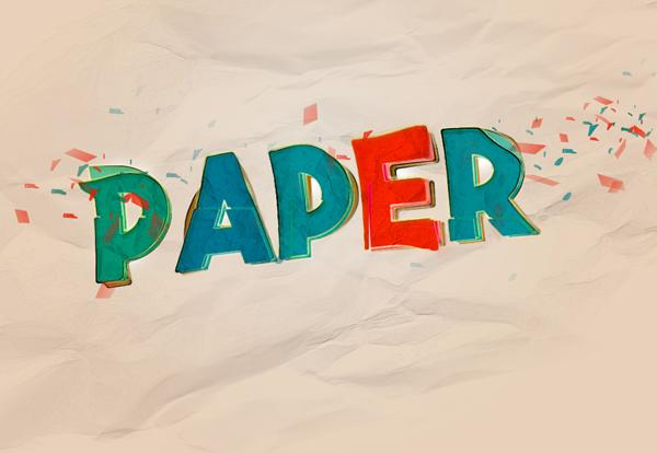 Creating Colourful Distorted Text