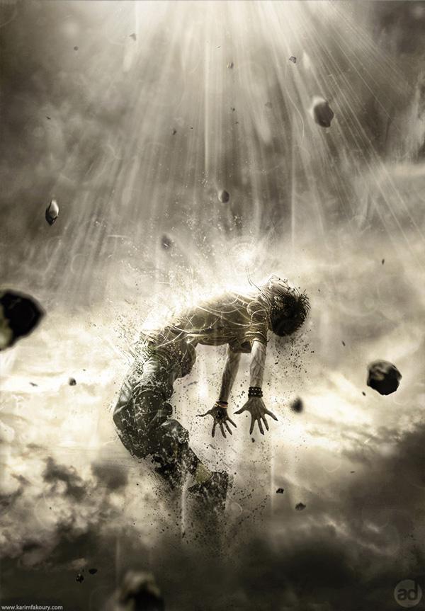 Compelling Human Disintegration Effect