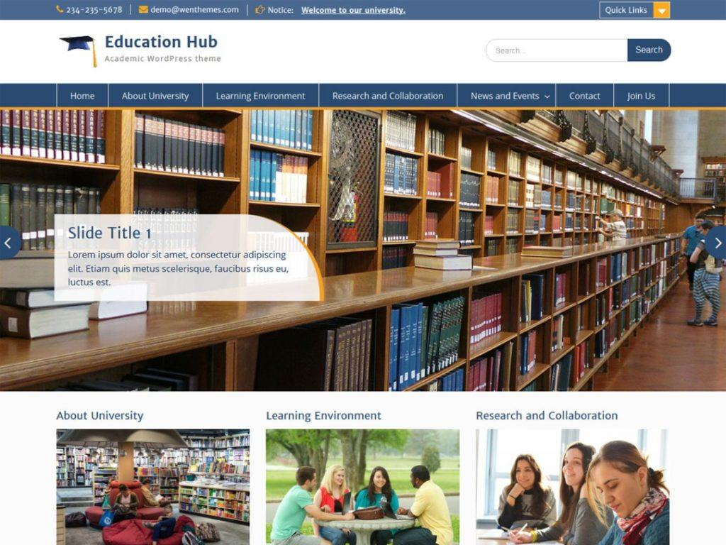 Education-hub-wordpress-theme