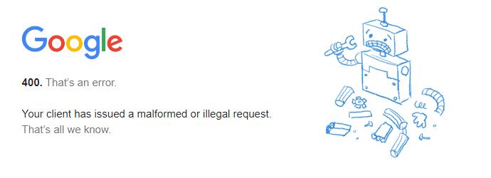 fix-youtube-error-400
