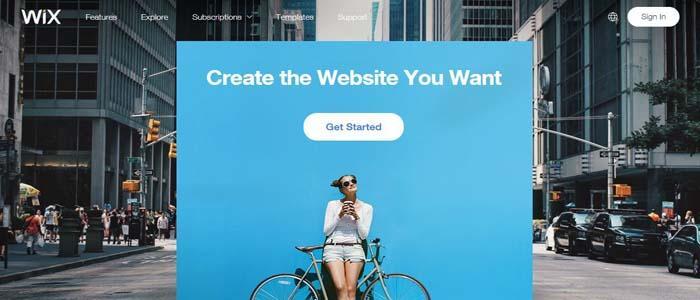 free-blogging-platform-wix