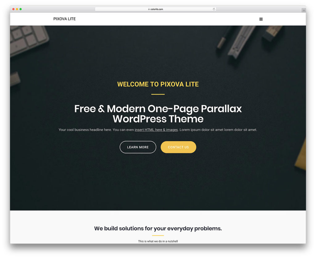 pixova-wordpress-theme