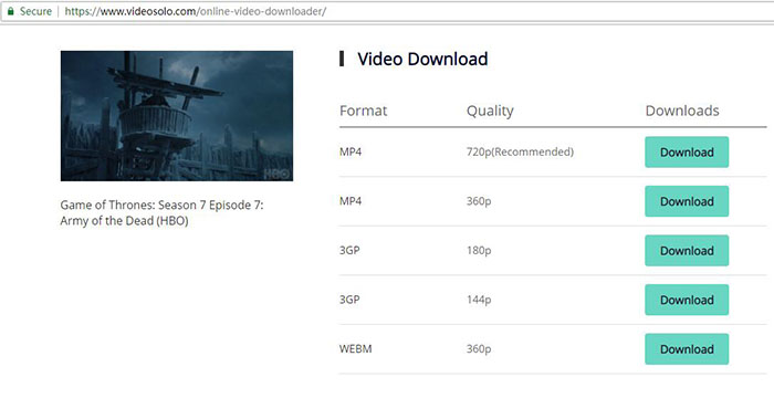 Download Online Video of Different Formats