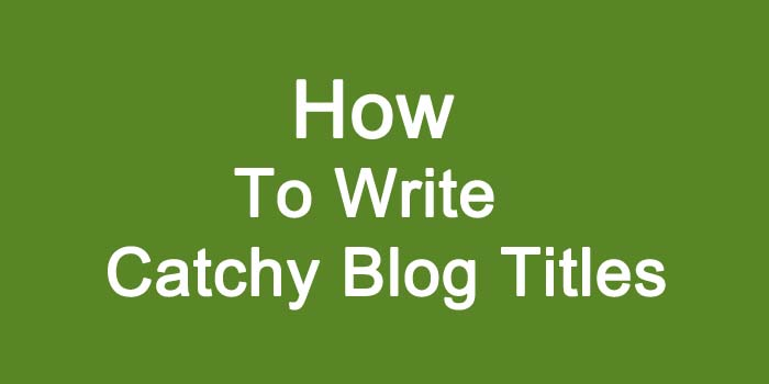 7 tips for writing catchy blog titles