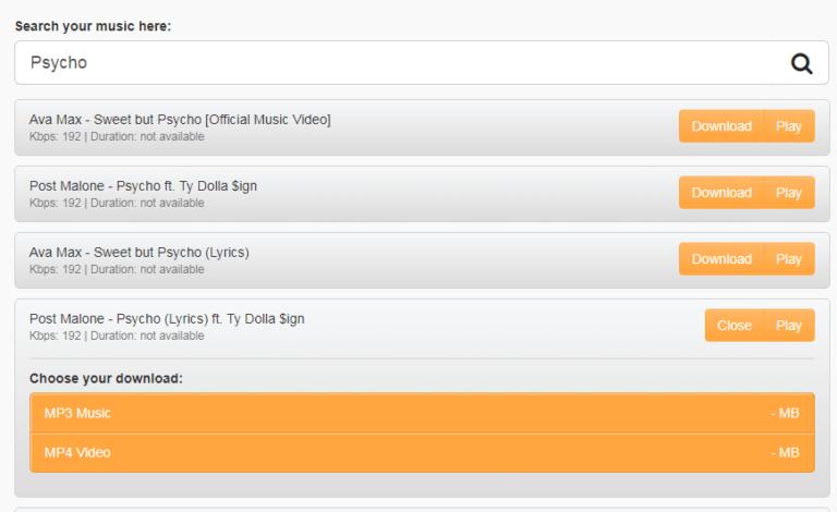 Musicpleer- Free Music Download [MP3/MP4] | PCRIVER