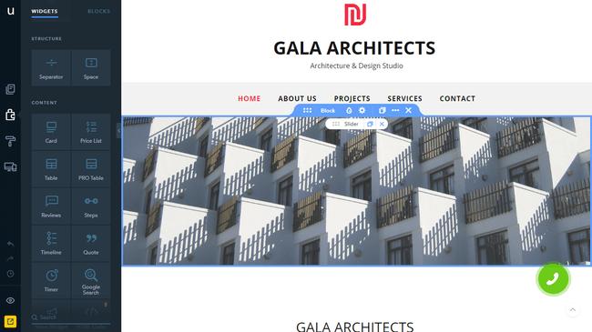 Gala architect