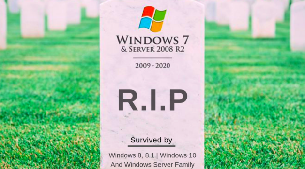 Windows 7 support to end