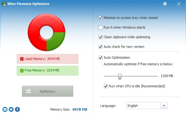 Wise Memory Optimizer Download