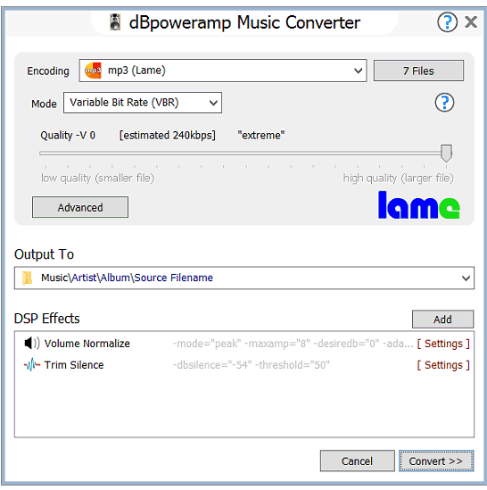 dBpoweramp Free Download for Windows