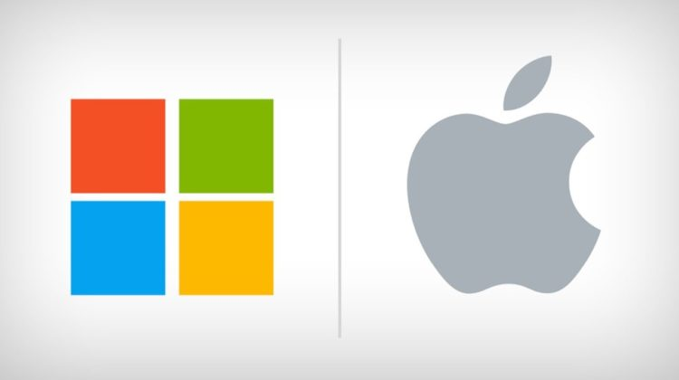Apple and Microsoft Push Wall Street Higher