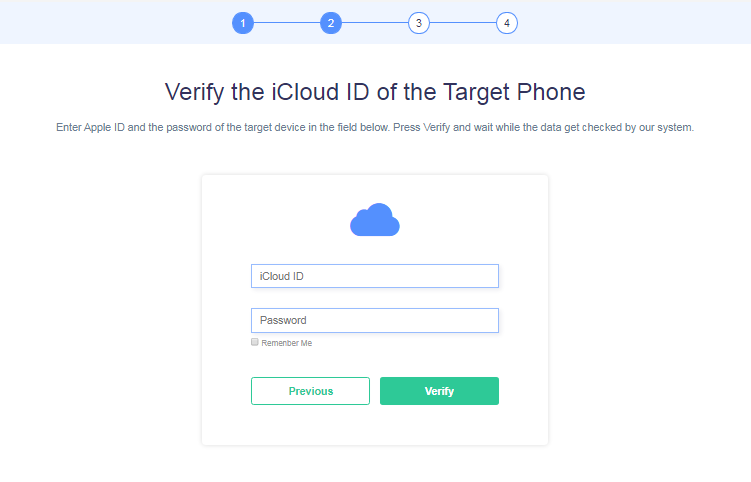 Minspy verify cloud ID