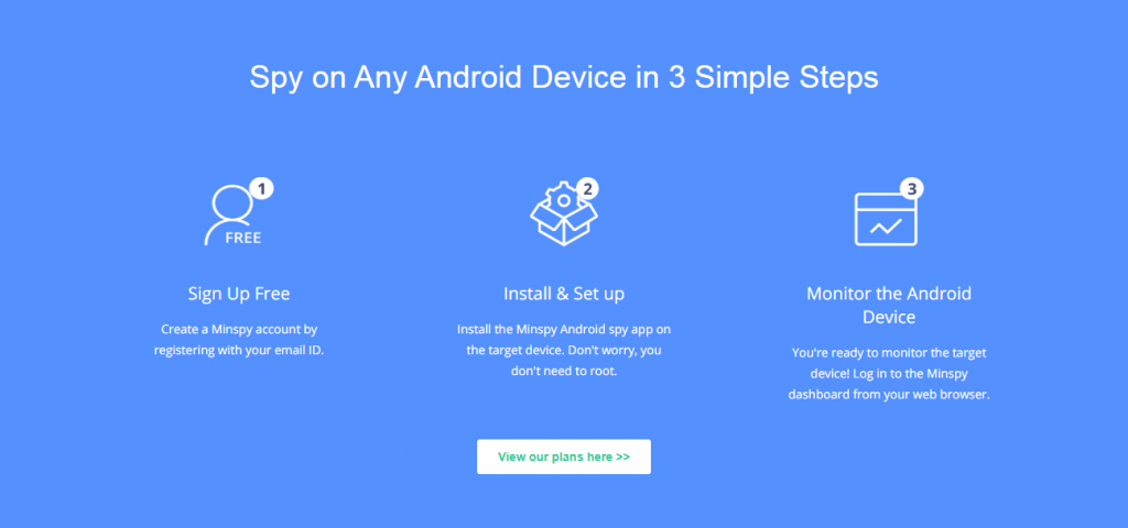 spy on android with minspy