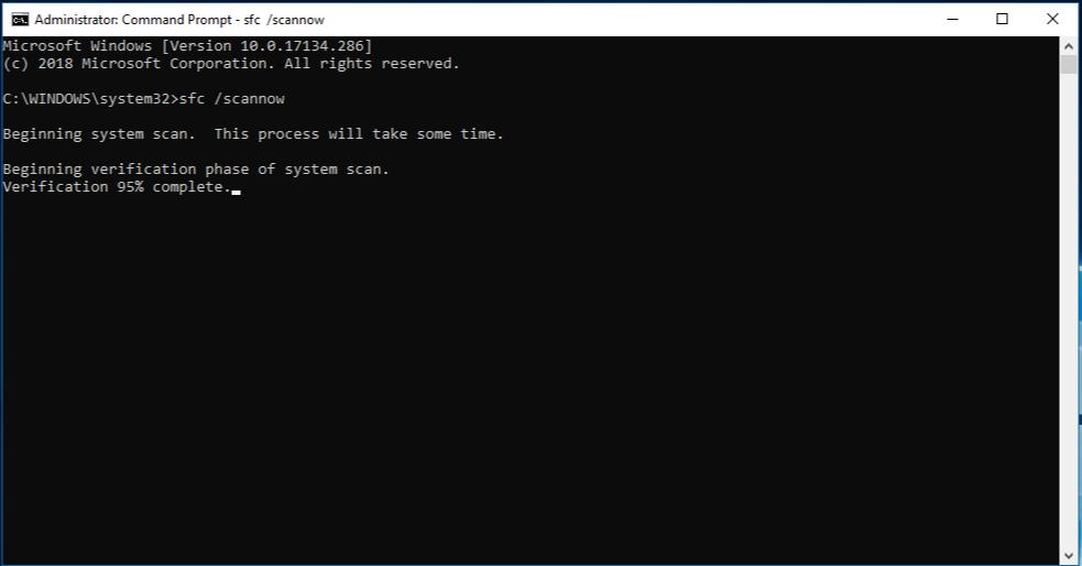 windows update error 80080005