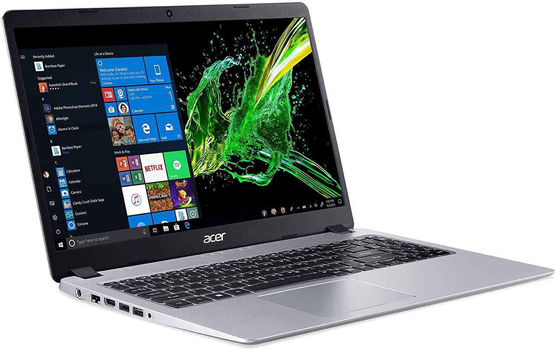 Acer Aspire 5 Slim Laptop, 15.6 inches Full HD IPS Display, AMD Ryzen 3 320